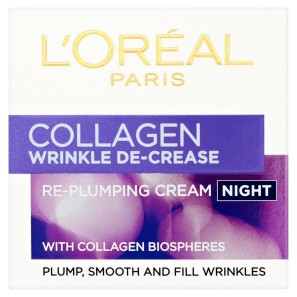 LOreal Paris Collagen Wrinkle De-Crease Night Cream