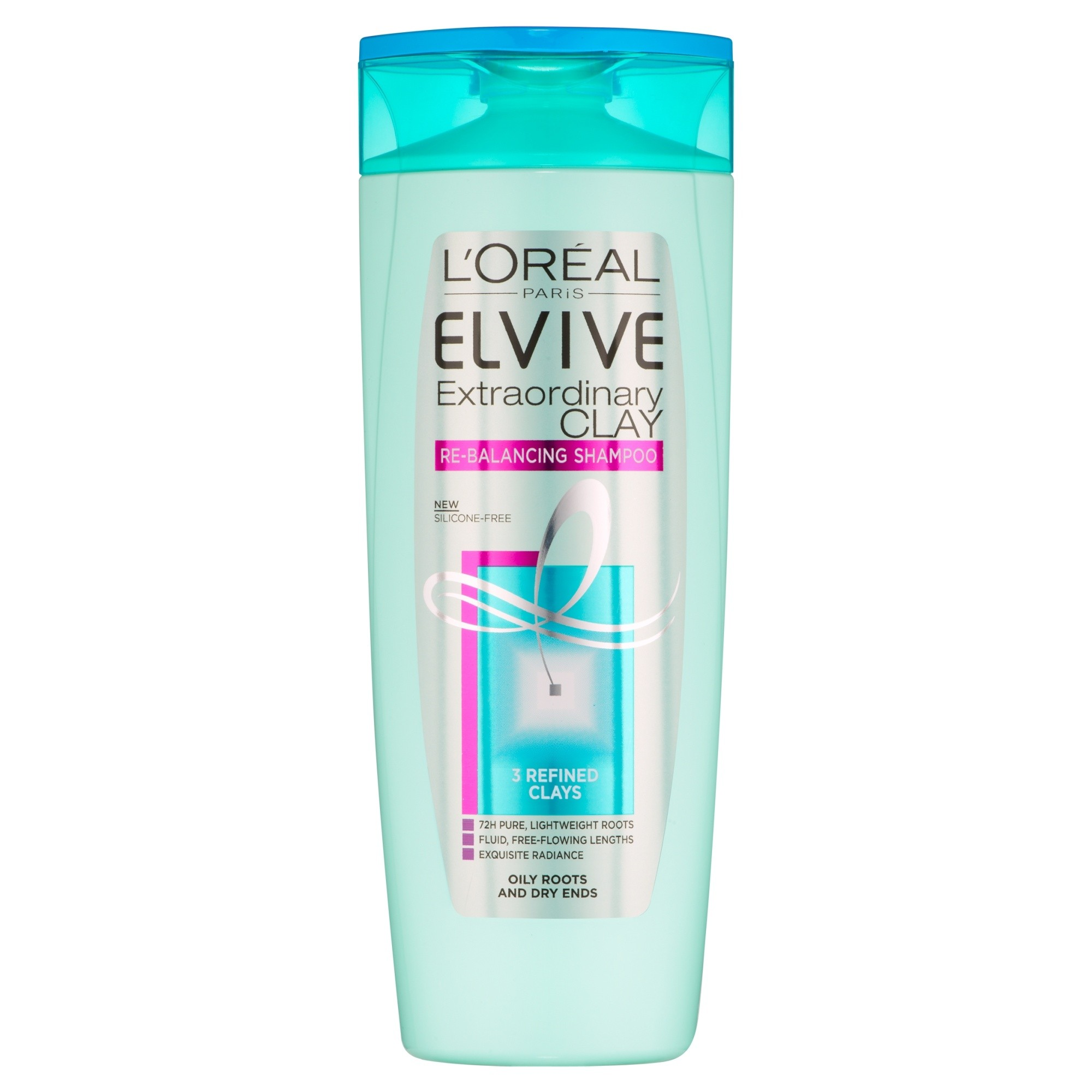 L'Oreal Paris Elvive Extraordinary Clay Re-Balancing Shampoo