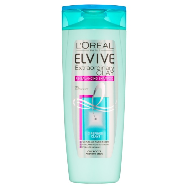 LOreal Paris Elvive Extraordinary Clay Re-Balancing Shampoo