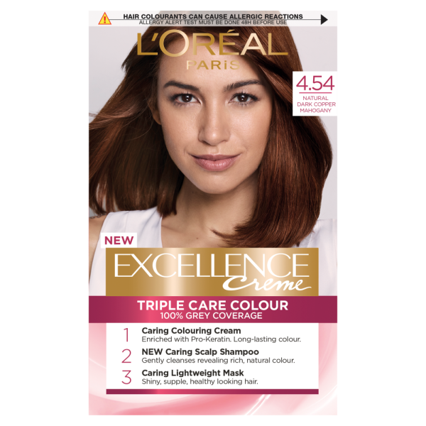 LOreal Paris Excellence Creme 4.54 Copper Mahogany Dye