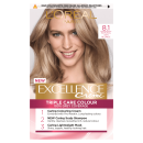 LOreal Paris Excellence Creme 8.1 Natural Ash Blonde Hair Dye