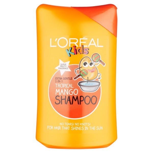 LOreal Paris Kids Extra Gentle 2-in-1 Tropical Mango Shampoo