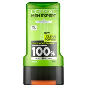 LOreal Paris Men Expert Clean Power Shower Gel