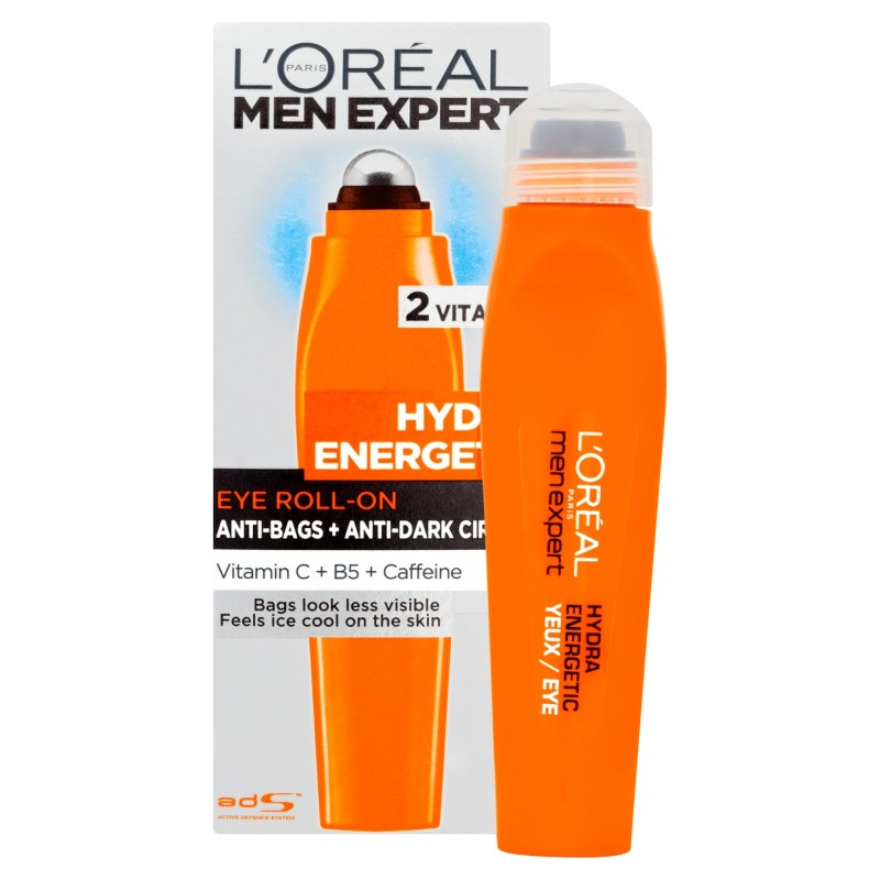 l 39 oreal men expert hydra energetic eye roll on 10ml chemist direct. Black Bedroom Furniture Sets. Home Design Ideas