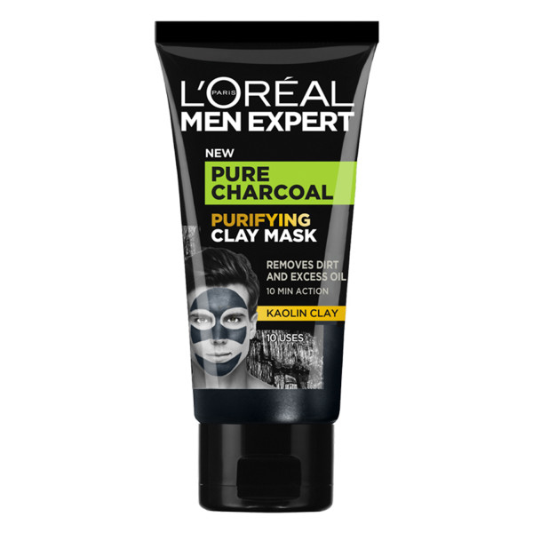 LOreal Paris Men Expert Pure Charcoal Purifying Clay Mask