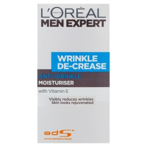 LOreal Paris Men Expert Wrinkle De-Crease Moisturiser