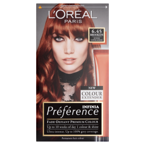 LOreal Paris Preference Infinia 6.45 Brooklyn Copper Auburn Hair Dye