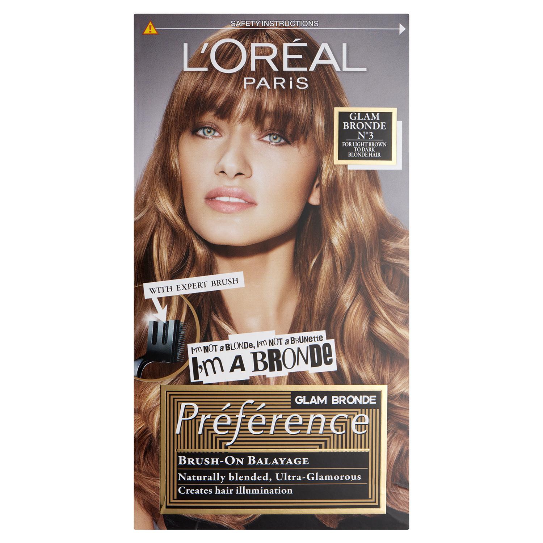 L'Oreal Paris Preference Glam Bronde No3 Hair Dye