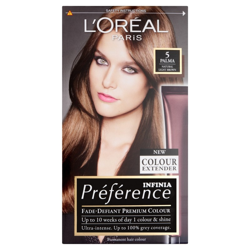 Loreal Preference Infinia 5 Palma Natural Light Brown Permanent