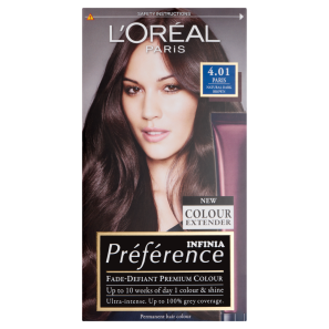 LOreal Paris Preference Infinia 4.01 Paris Dark Brown Dye