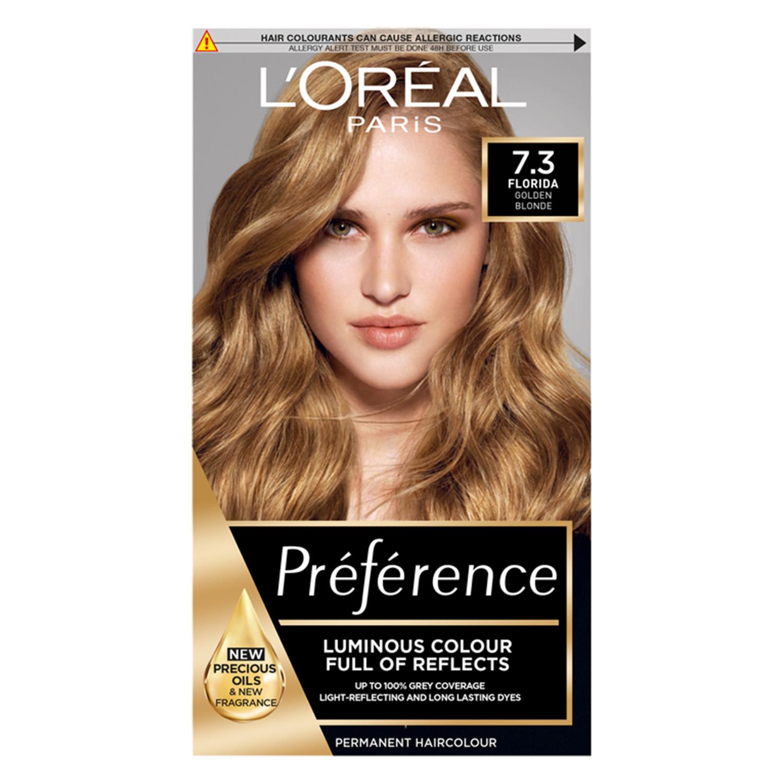 L'Oreal Paris Preference Infinia 7.3 Florida Golden Blonde Hair Dye