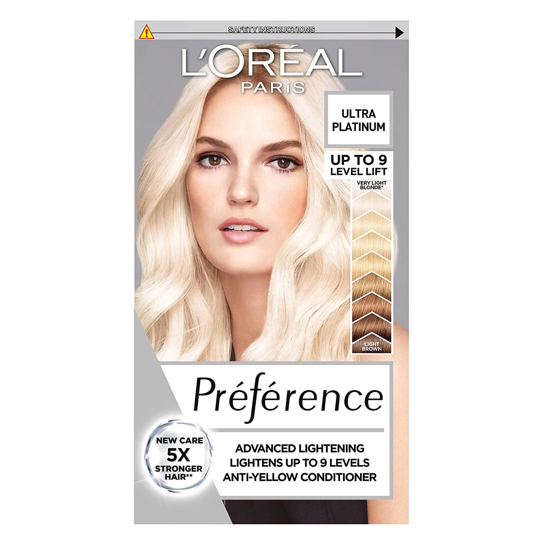 L'Oreal Paris Preference Les Blondissimes Extreme Platinum Hair Dye