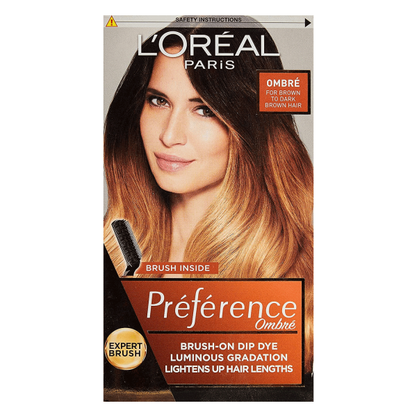 LOreal Paris Preference Ombre No104 Light/Dark Brown Dye