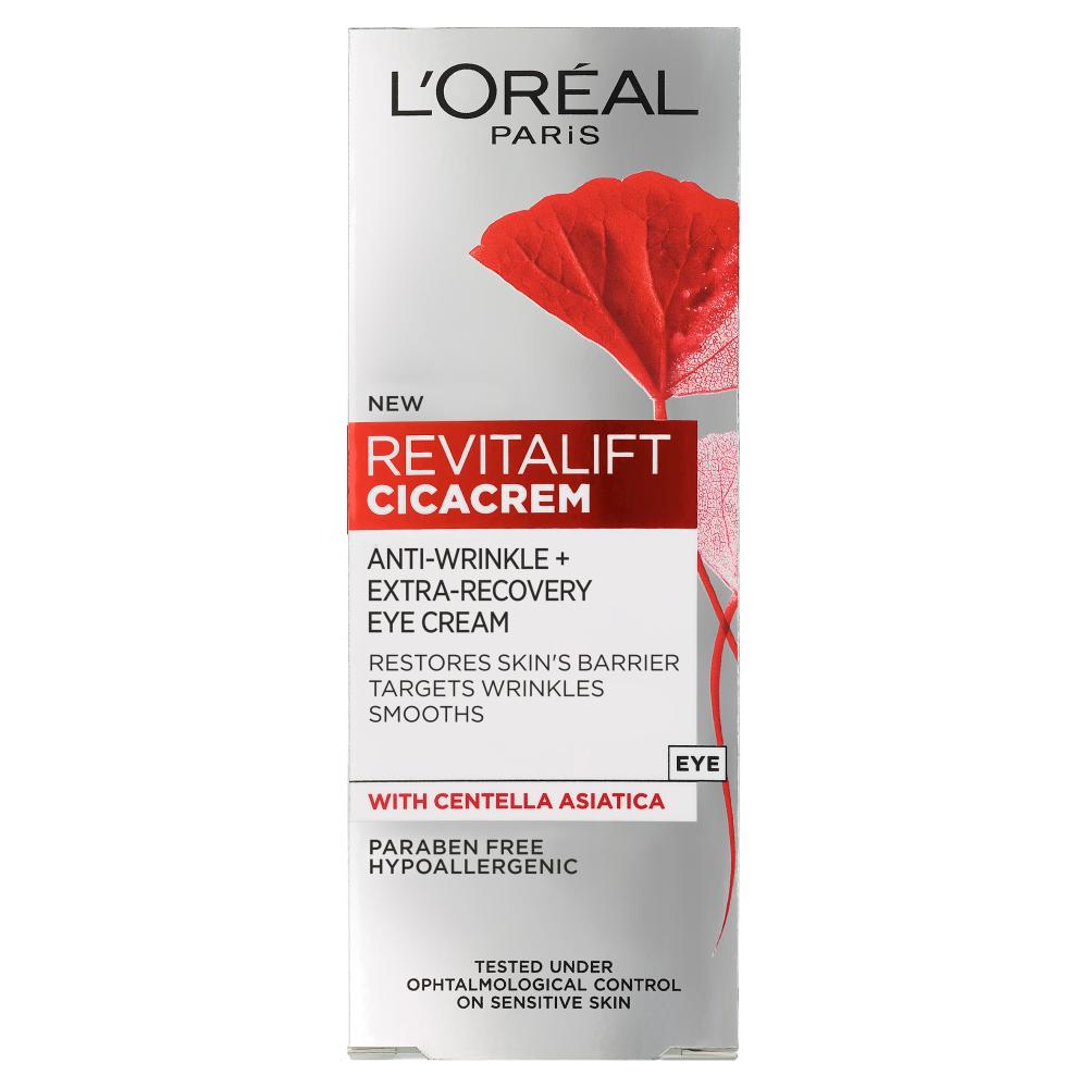 L'Oreal Paris Revitalift Cicacrem Anti Wrinkle Eye Cream