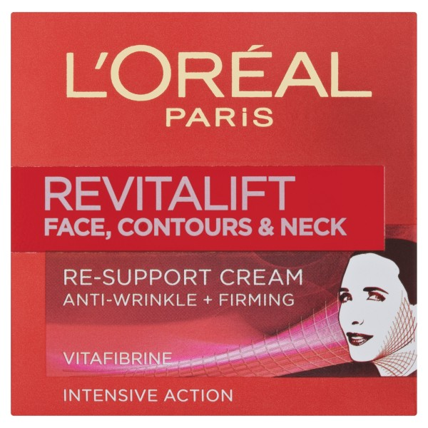 LOreal Paris Revitalift Face, Contours and Neck Re-Support Cream