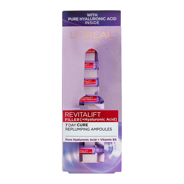 L'Oreal Paris Revitalift Filler Hyaluronic Acid Replumping Ampoules
