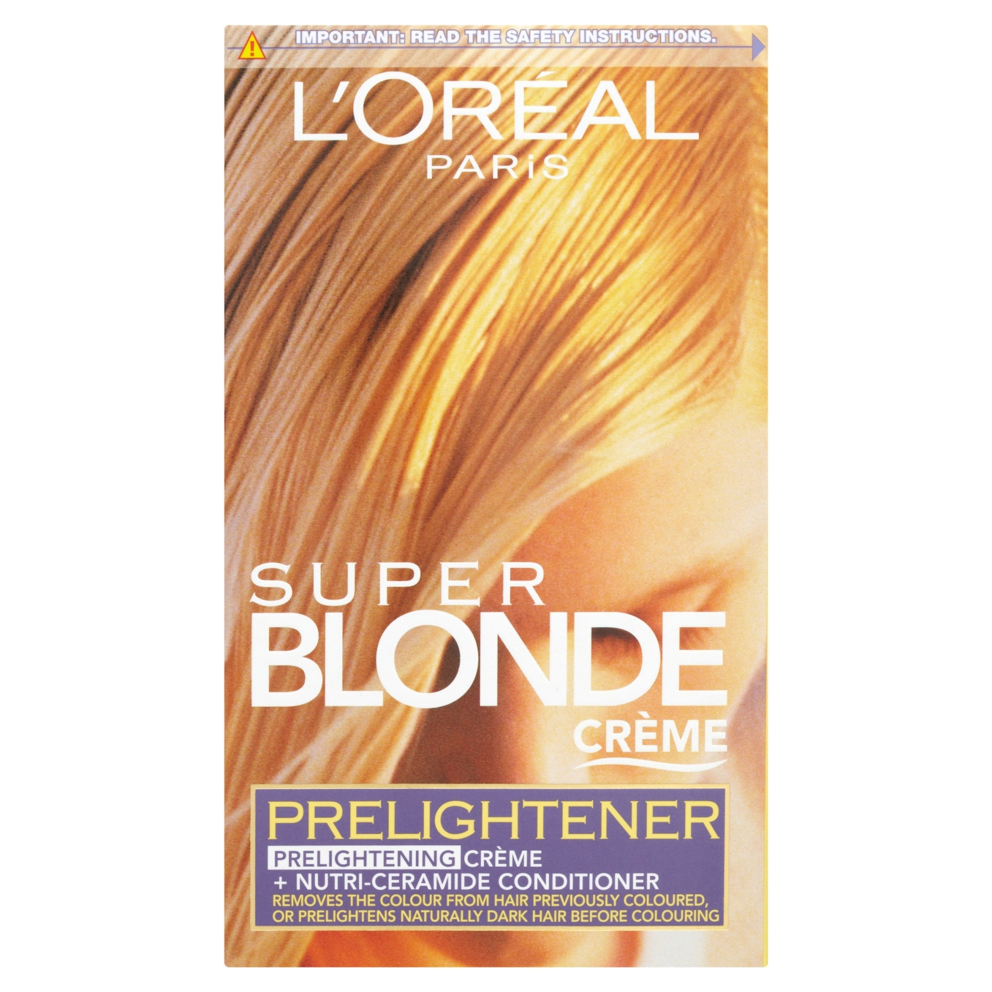 LOreal Paris Super Blonde Creme Hair Colour Prelightener