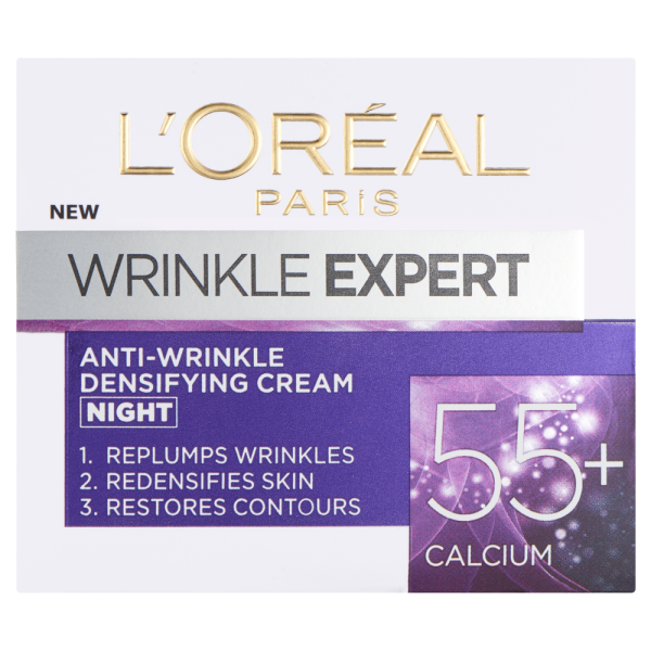 LOreal Paris Wrinkle Expert 55+ Calcium Night Cream