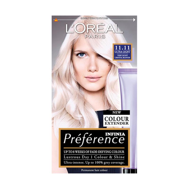 Loreal Preference Infinia 1111 Ultra Light Crystal Blonde Hair Dye