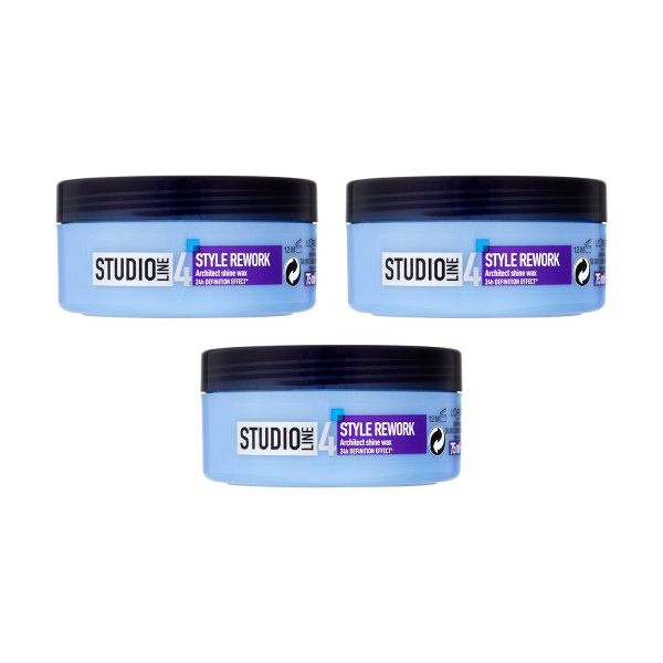 LOreal Paris Studio Line Rework Architect Wax Triple Pack