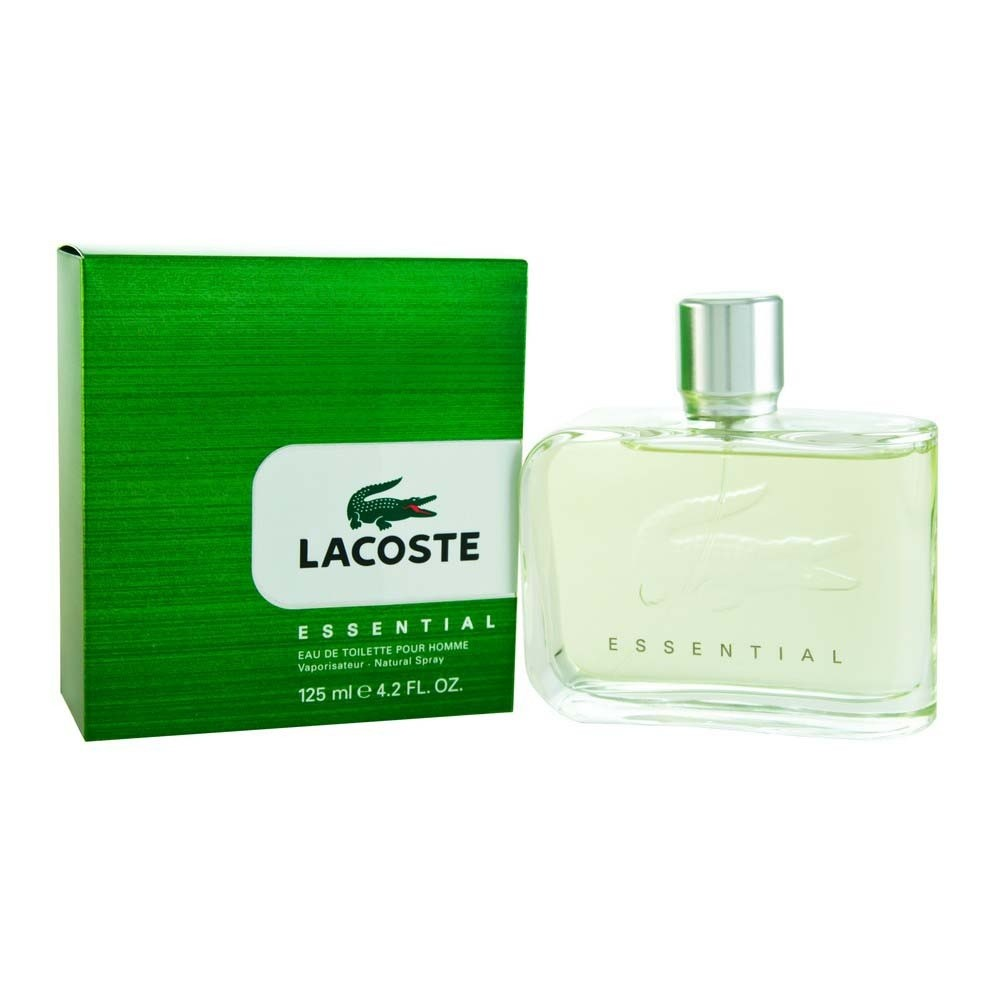 Lacoste Essential Eau De Toilette Edt 125ml Spray - Men's For Him. New