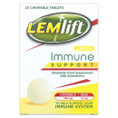 Lemlift Immune Support Chewable Tablets Lemon