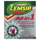Lemsip AIO Drink Wild Berry & Hot Orange 8s