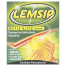 Lemsip Cold & Flu Lemon Sachets