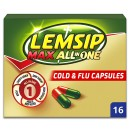 Lemsip Max All in One Cold + Flu Capsules