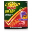 Lemsip Max Cold And Flu Blackcurrant Sachets