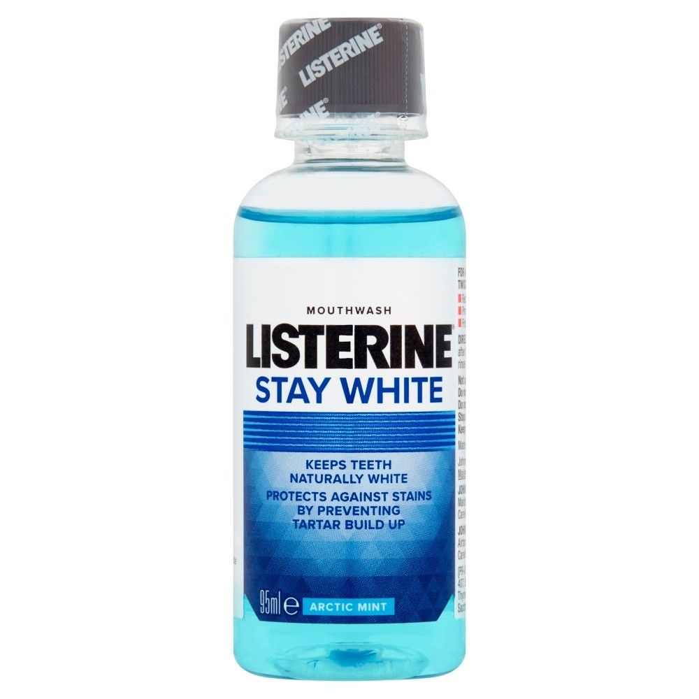Listerine Stay White Mouthwash Arctic Mint