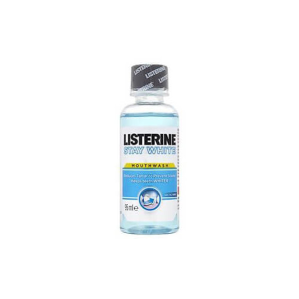 Listerine Stay White Mouthwash Mini