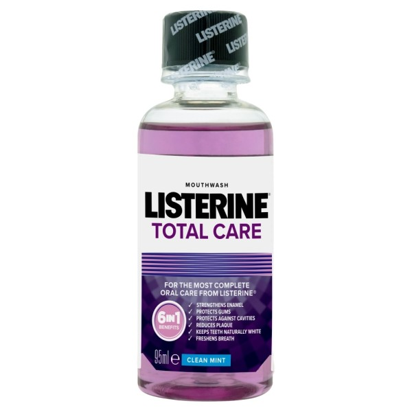 Listerine Total Care Mouthwash Clean Mint