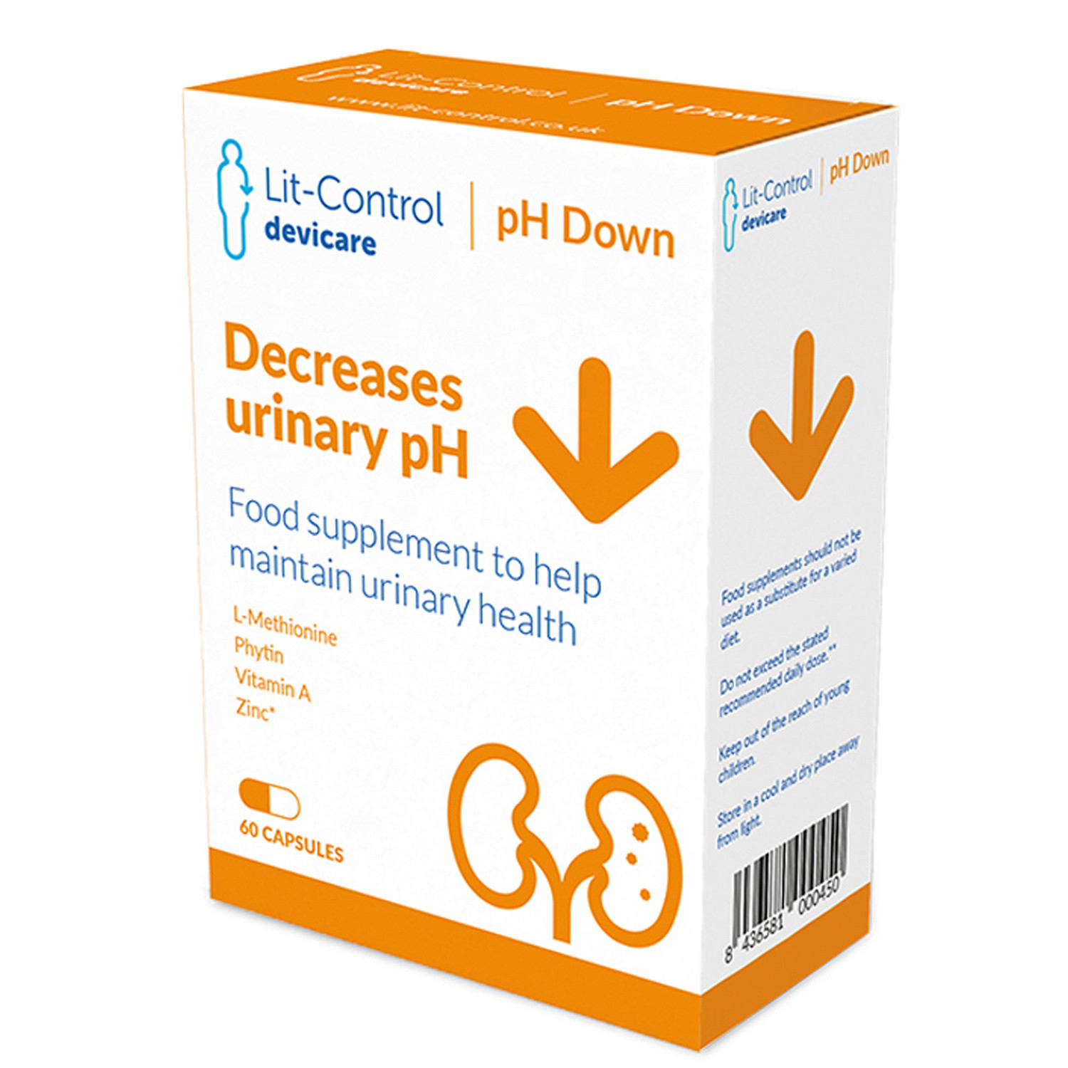 Lit Control pH Down For Kidney Stones