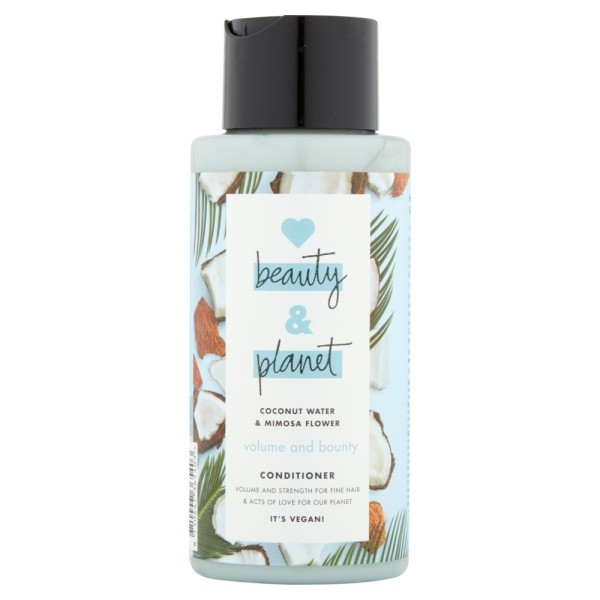 Love Beauty and Planet Vegan Hair Conditioner Bounty Volume