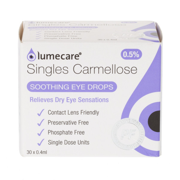 Lumecare Carmellose 0.5% 12 hour Eye Drops