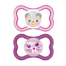 MAM Air 6+ Months Soother Pink