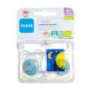 MAM Night 0+ Month Soother - Blue