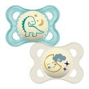 MAM Night 0+M Soother - Blue