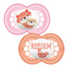 MAM Original 12+M Soother - Pink