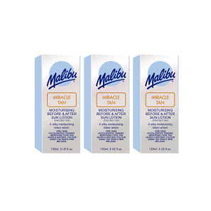 Malibu Miracle Tan Aftersun Lotion Triple Pack