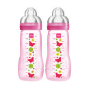 Mam Baby Bottle 2 Pack Pink