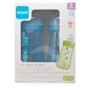 Mam Baby Bottle 2 Pack Blue