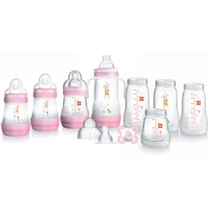 Mam Bottle Starter Set - Pink