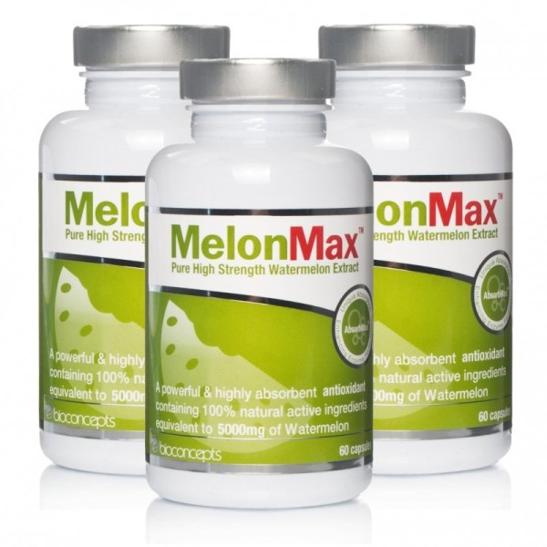 MelonMax Pure High Strength Watermelon Extract - Triple Pack