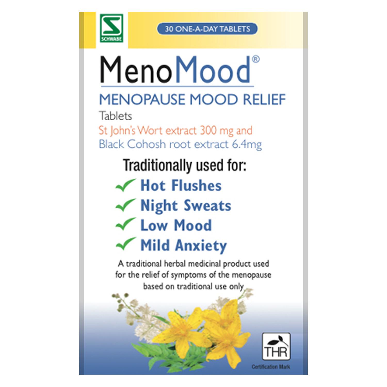 MenoMood Menopause Mood Relief Tablets