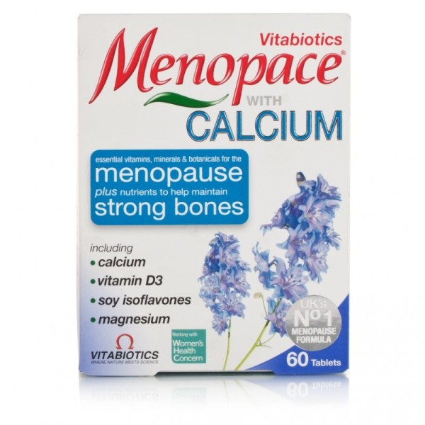 Vitabiotics Menopace Calcium Tablets