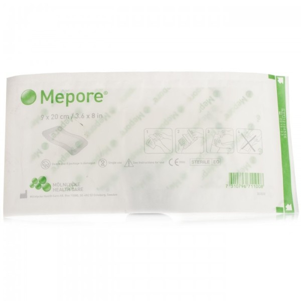 Mepore Self-Adhesive Dressing 9x20cm (single)