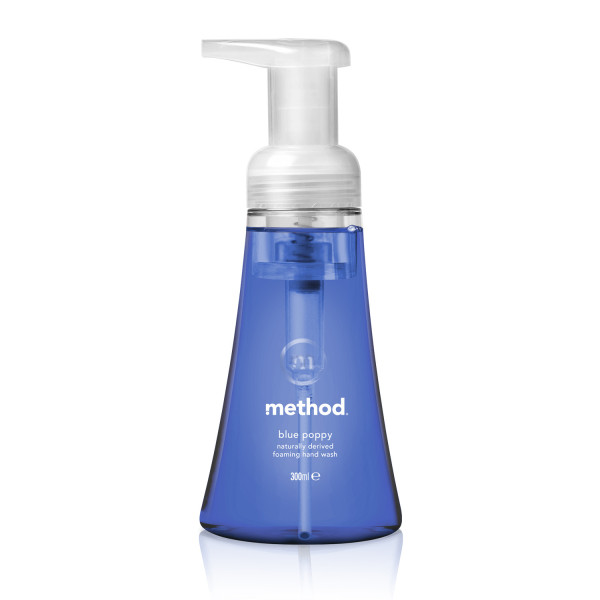 Method  Hand Wash Foaming Blue Poppy