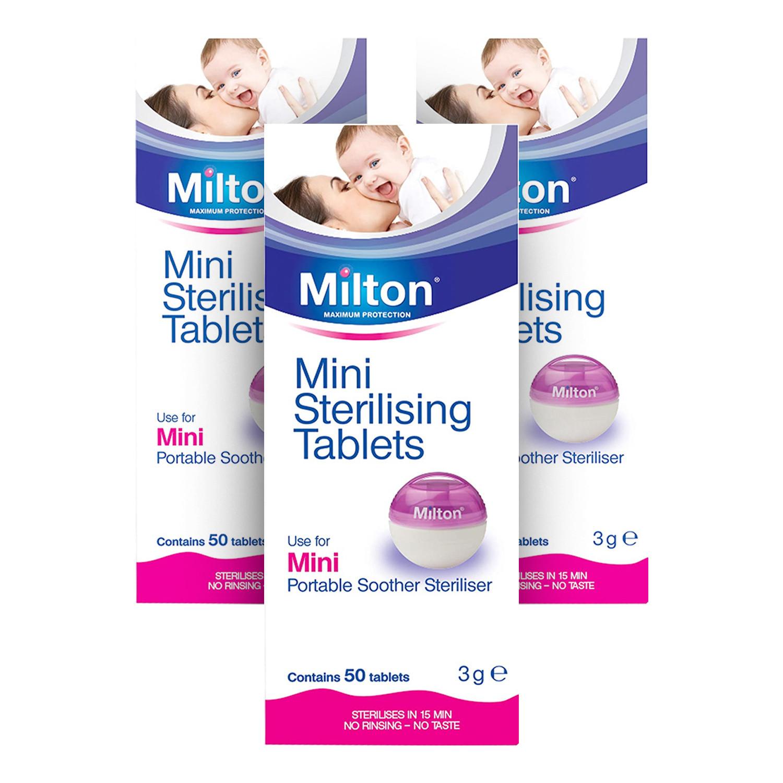 Milton Mini Steriliser Tablets - 3 Pack